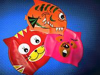 Красочные детские шапочки для плавания (Германия).