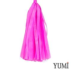 Декор: кисточка тассел ярко-розовая (1шт)