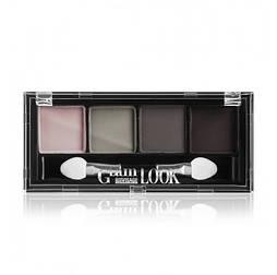 Тіні матові Glam Look 4-х кольорові 4г тон 05