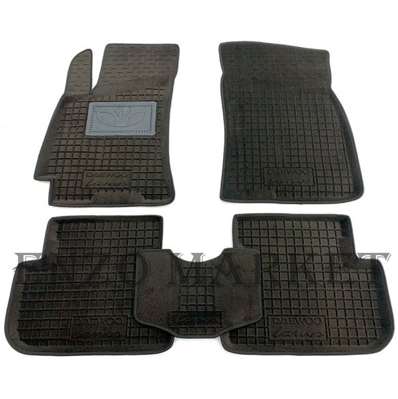 Гібридні килимки в салон Daewoo Lanos 1996- (AVTO-Gumm)