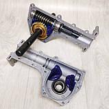 Насадка культиватор-сапка для бензокоси 26 і 28 мм штанга (вал 7 і 9 шліців) на підшипниках, фото 6