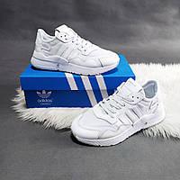 Женские кроссовки Adidas Jogger Адидас белые джоггеры Размеры: 36 37 38 39 40 41
