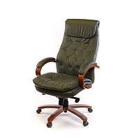 Крісло АКЛАС Лаціо EX MB Зелене