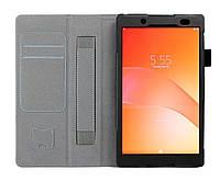 Чехол книжка подставка Кожа для Sony Xperia Z3 Tablet Compact 8.1 Black (Черный)