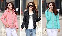 Женская весенняя куртка-пуховик. Модель 50132., фото 3