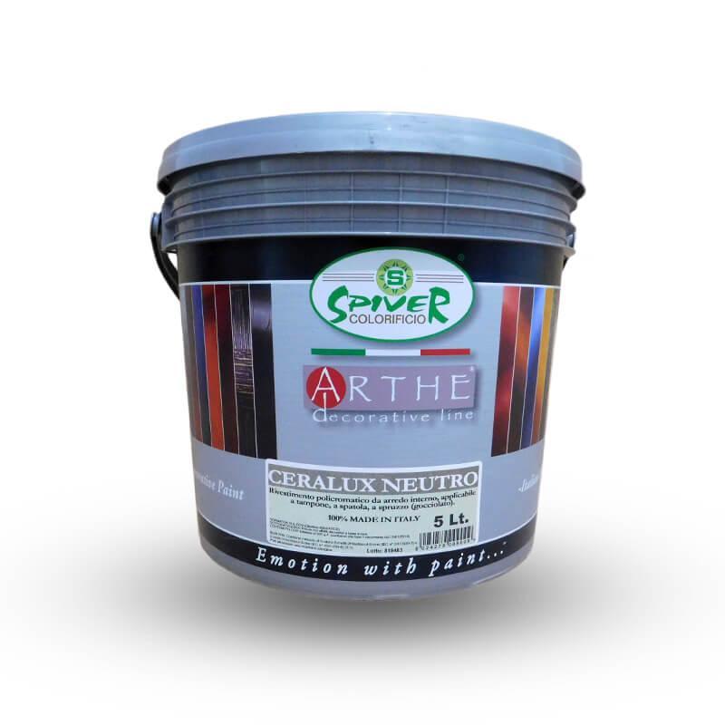 CERALUX NEUTRO - Перламутрова лессирующая акрилова фарба. SPIVER