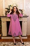 Рожева вишита сукня-це просто ж мрія🌸💜, фото 4