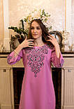 Рожева вишита сукня-це просто ж мрія🌸💜, фото 2