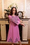 Рожева вишита сукня-це просто ж мрія🌸💜, фото 6