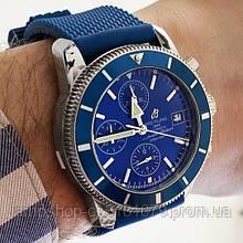 Breitling Blue-Silver