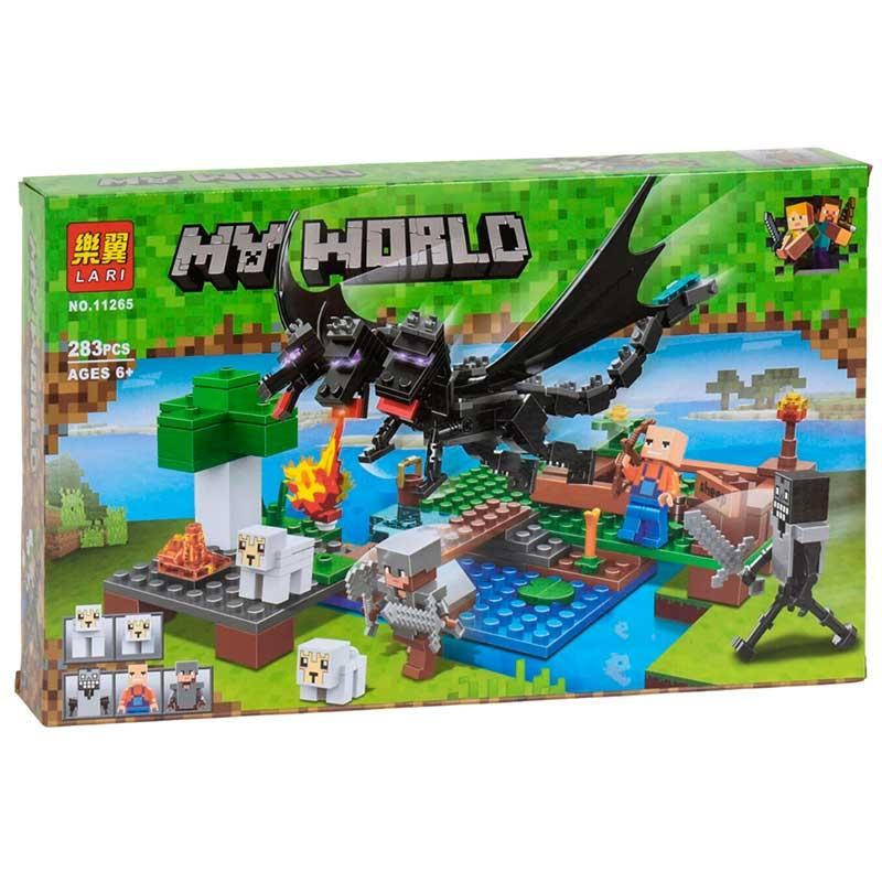 "Конструктор ""Minecraft"" 11265 ""Битва з чорним драконом"" (283 д)"