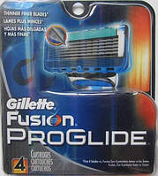 Лезвия Gillette Fusion Proglide Manual, 4 Count Cartridge , фото 1