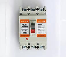 Автоматический выключатель ElectrO ВА77-1-125 3 полюси  080А 10In (8-12In)  Icu 35кА  Ics 22кА 400В