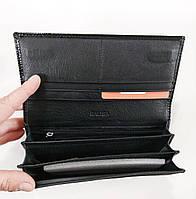 Женский кожаный кошелек Balisa 827Н2 черный Кожаный женский кошелек Балиса закрывается на магнит, фото 3