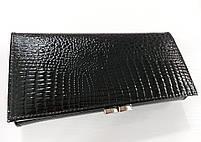 Женский кожаный кошелек Balisa 827Н2 черный Кожаный женский кошелек Балиса закрывается на магнит, фото 5