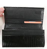 Женский кожаный кошелек Balisa 827Н2 черный Кожаный женский кошелек Балиса закрывается на магнит, фото 2