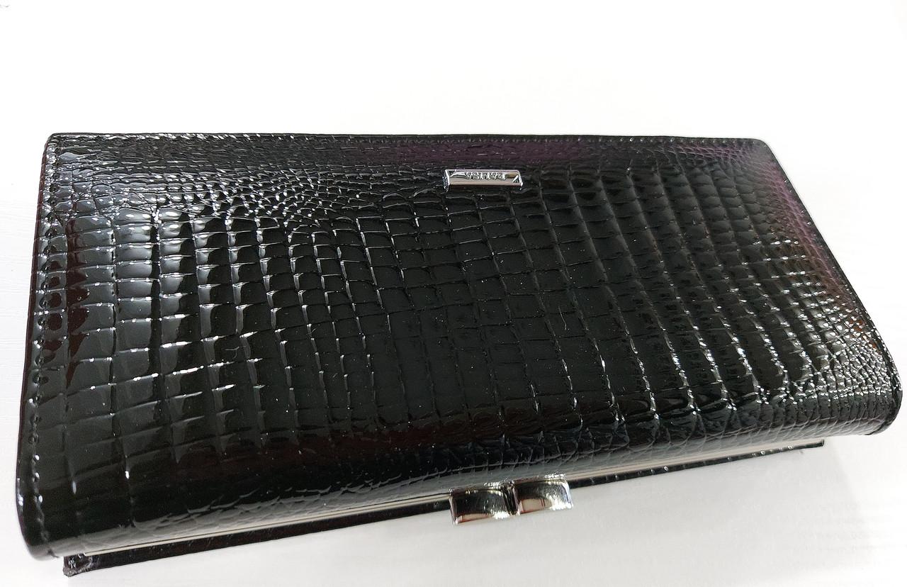Женский кожаный кошелек Balisa 827Н2 черный Кожаный женский кошелек Балиса закрывается на магнит