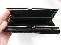 Женский кожаный кошелек Balisa 827Н2 черный Кожаный женский кошелек Балиса закрывается на магнит, фото 4
