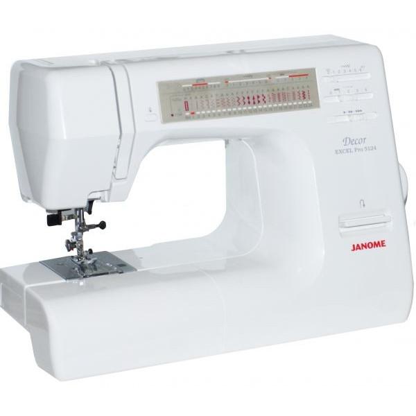 Janome Decor Excel Pro 5124 - швейная машина