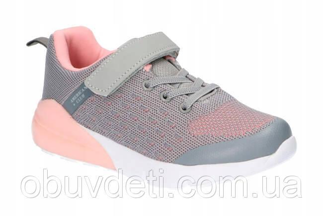 Качественные кроссовки для девочки American Club 36 р-р - 23.2 см