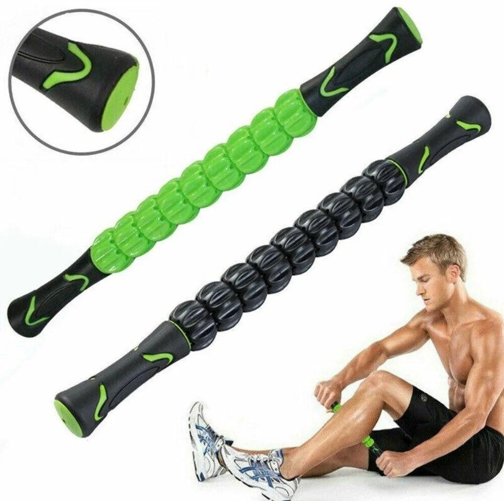 Роликовый массажер для мышц всего тела Muscle stick | Ролик для массажа всех частей тела муск стик