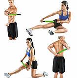 Роликовый массажер для мышц всего тела Muscle stick | Ролик для массажа всех частей тела муск стик, фото 7