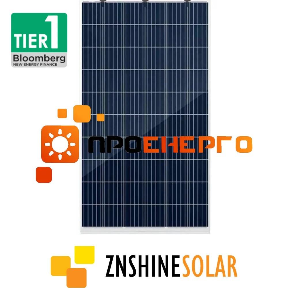 Сонячна панель ZNSHINE ZXP335-LD72 Double-Glass + Graphene Coating
