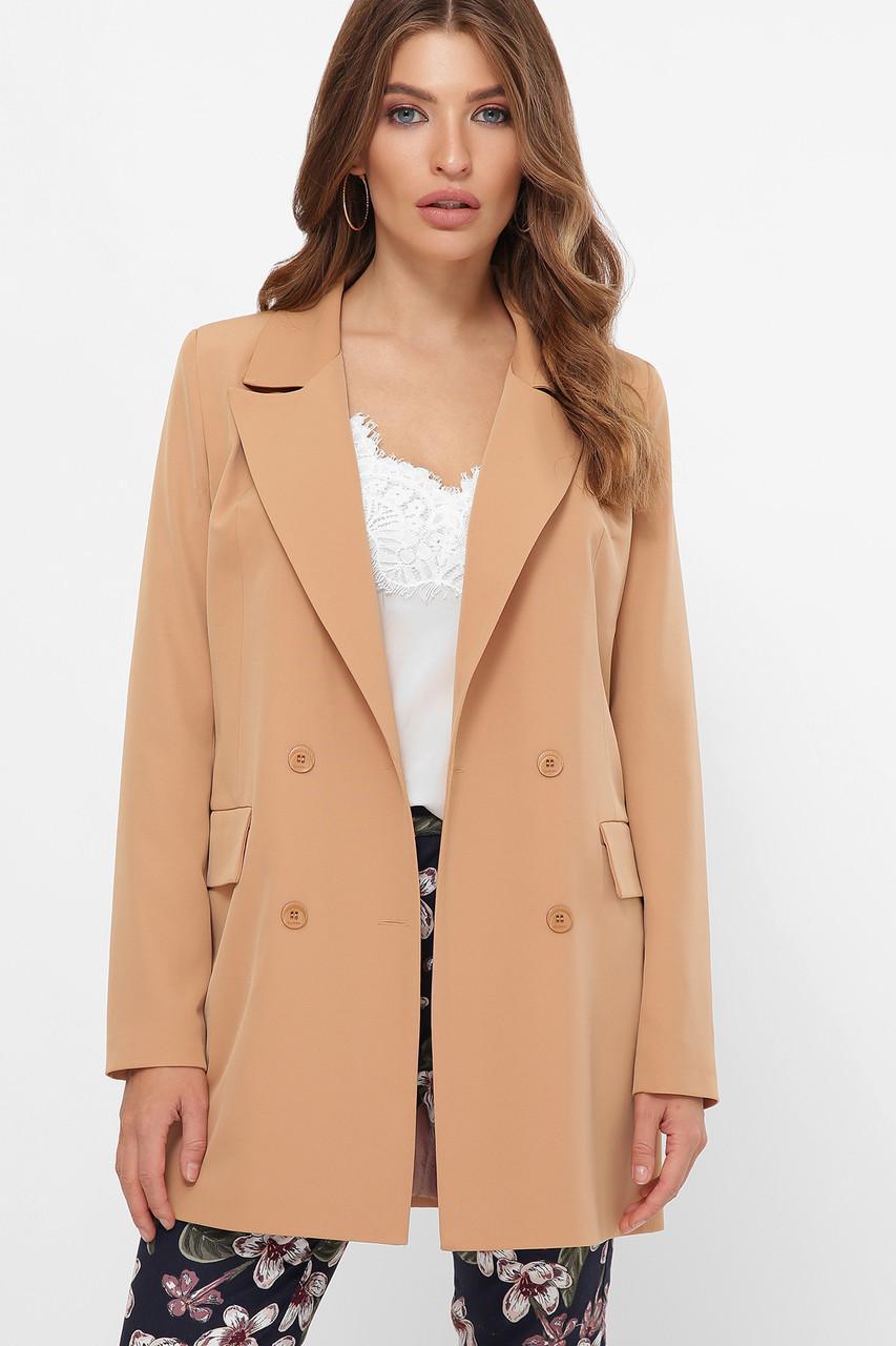 Женский двубортный  пиджак Питер
