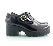 VM-Villomi Черные туфли на каблуке