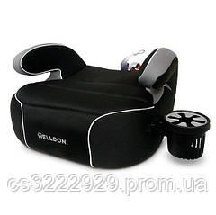 Автокресло бустер Welldon Penguin Pad (черный) PG08-P02-001