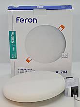 Feron AL704 18w встраиваемый безрамочный точечный светодиодный светильник