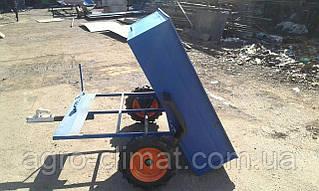 Причепи до квадроциклів самоскид маточина (жиг і мотоблок). 105х120 см
