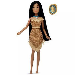 Классическая кукла Покахонтас Дисней Pocahontas Classic Doll с кулоном