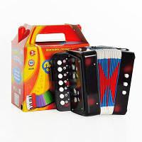 Детская музыкальная гармошка Shantou Huada Toys (чёрный)