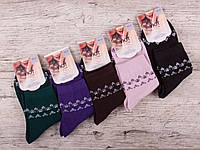 """Шкарпетки жіночі бавовняні """"ЗАТИШОК"""" розмір 36-41"""