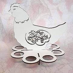 Подставка для пасхальных яиц, Курочка