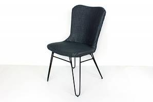 CRUZO Плетінь стілець Бонні CRUZO лум, сірий, sb10882