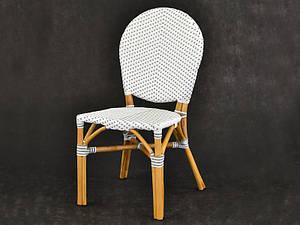 Обідній стілець плетений Cruzo Ліон з ротанга