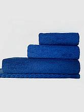 Комплект полотенец синий (электрик)