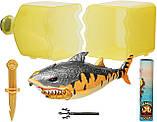 Набор Тигровая Акула в бутылке, светится в темноте, Treasure X Sunken Shark, Оригинал из США, фото 5