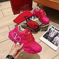 Премиум реплика женские яркие кроссовки Valentino