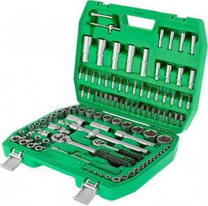 """Набор инструментов в кейсе для ремонта автомобиля в своем гараже 1/2"""" & 1/4"""" 108ед. INTERTOOL ET-6108SP"""