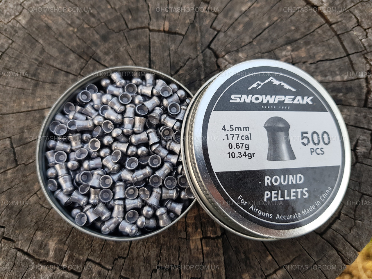 Кулі Snow Peak Round Pellets 0,67 гр. (500 шт.)