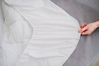 Наматрасник 140х200 на резинке по периметру, стеганый, фото 2