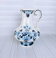 Коллекционный большой кувшин, ваза. Delft