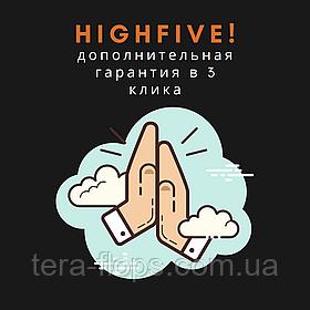 HighFive! - оставь отзыв о нас и увеличь  гарантию на свою покупку до 2-х месяцев!