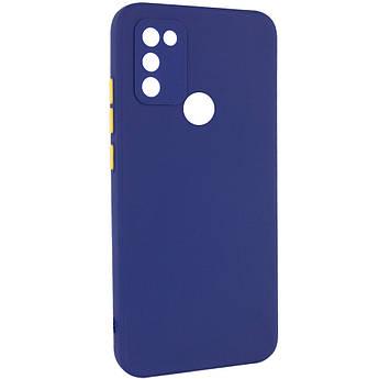 Чехол TPU Square Full Camera для Infinix Hot 10 Lite Синий