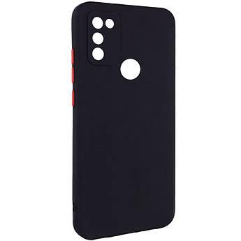 Чехол TPU Square Full Camera для Infinix Hot 10 Lite Черный