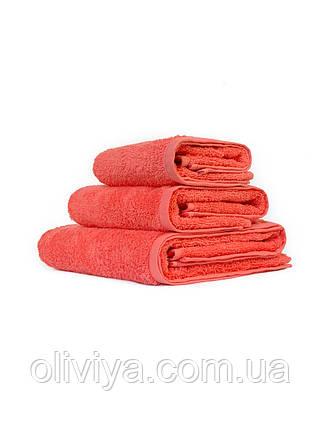 Махрові рушники абрикосовий, фото 2