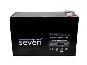 Аккумуляторная батарея SEVEN 12В/7Ач, фото 2